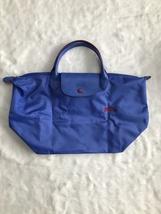 Longchamp Club Collection Horse Embroidery Short Handle Medium Handbag C... - $98.00