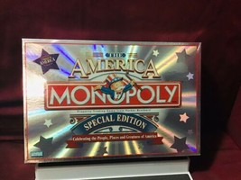 Monopoly The America Special Edition Game Parker Brothers 2002 - $39.60