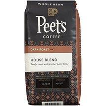 Peet's Coffee House Blend, Deep Roast Whole Bean Coffee, 12 Ounce Bag Br... - $24.49