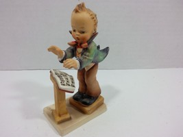 Vintage Goebel Hummel Fine Porcelain Figure #129 Band Leader (W Germany ... - $98.95