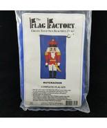 The Flag Factory Nutcracker Christmas DIY Flag Craft Kit 28x49 Nylon USA... - £14.32 GBP