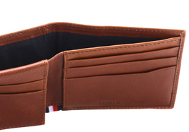 Tommy Hilfiger Men's Leather RFID Fixed Passcase Wallet Billfold 31TL220084 image 11