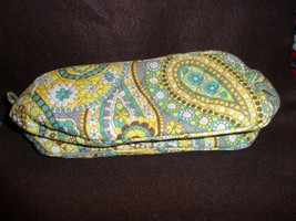 Vera Bradley Retired Travel Toiletry Trip Kit Lemon Parfait - $22.00