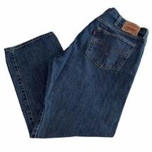 Levi's Men's 501 Original Fit Straight Leg Button Fly Jeans 42X30 casual... - $33.90