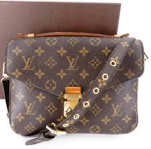 Authentic LOUIS VUITTON Monogram Pochette Metis Shoulder Bag M44875 France - $1,440.00