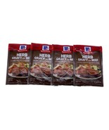 McCormick Herb Gravy Mix for Beef 4 Packs 1 oz  Exp 5/2022 - $19.75