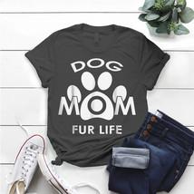 Dog Mom Fur Life T- Shirt Birthday Funny Ideas Gift Vintage - $15.99+
