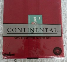 "NEW Continental 70"" Round Tablecloth Scotchgard... - $12.99"