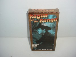 Rogue of the Range Johnny Mack Brown VHS Video Tape Movie - $5.84