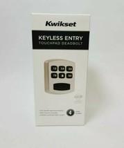 Kwikset Keyless Entry Touchpad Deadbolt 4 User Codes Grade 3 Security Ne... - $28.49