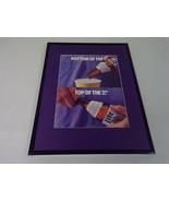 1986 Miller Lite Beer / Baseball 11x14 Framed ORIGINAL Vintage Advertise... - $32.36