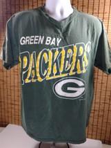 Vtg Green Bay Packers Cotton Shirt T-Shirt XL NFL - $14.20