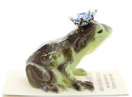 Hagen-Renaker Miniature Frog Prince Kissing Birthstone 09 September Sapphire image 2