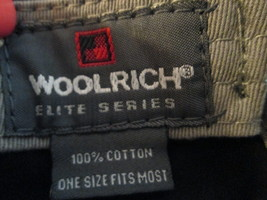 """Mens Ball Cap Woolrich """"Elite Series Tactical"""" on front TF324/ALS - $8.93"""