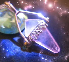 HAUNTED NECKLACE THE 7 SECRETS OF LIFE HIGHEST LIGHT COLLECTION OOAK MAGICK - $4,120.31