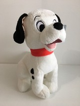 "Disney Store Lucky Plush 101 Dalmations 13"" Genuine Authentic Red Collar - $19.39"