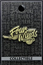 Hard Rock Cafe Four Winds Casino Limited Edition Destination Pin - $17.99