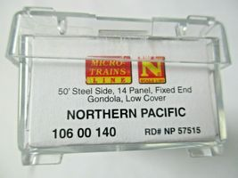 Micro-Trains # 10600140 Northern Pacific 50' Steel Side 14 Panel Gondola N Scale image 6