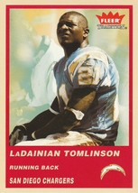 2004 Fleer Tradition #71 LaDainian Tomlinson  - $0.50