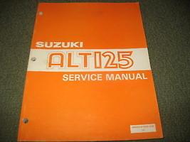 Nos 1983 83 Suzuki ALT125 Alt 125 Service Repair Manual - $17.74