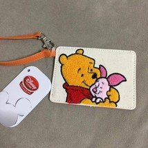 Disney store Pooh and Pigret Sagara embroidery pass case regular case - $48.51