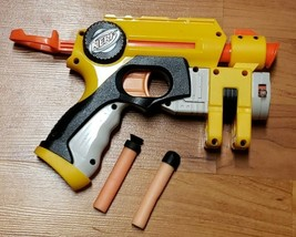 Hasbro NERF Gun Single Shot with 'Laser Pointer' -Preowned- Works - $8.95