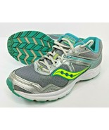 Saucony Womens Sz 9.5 Cohesion 10 Grip Trainers Running Shoes Gray S15333-1 - $37.11