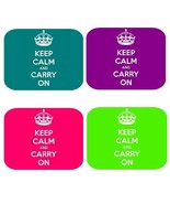 KEEP CALM AND CARRY ON MOUSE PAD COMPUTER PC - $10.76