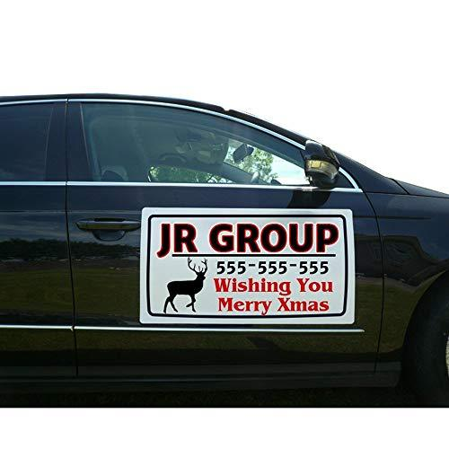 BANNER BUZZ MAKE IT VISIBLE Custom Vehicle Magnetic Signs (Free Design for You)