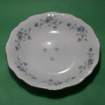 "Johann Haviland Bavaria Porcelain Bowl with Silver Trim 7.5"" In diameter  - $23.28"