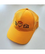 Old El Paso Embroidered Cap Hat Yellow Gold Mesh - $19.79