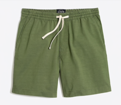 Nuevo J Crew Hombre XL Reade 17.8cm Cordón Ajuste Algodón Shorts Casual ... - $38.14