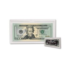 (20) BCW Deluxe Currency Slab - Regular Bill -  2 11/16 X 6 1/4 - $42.09