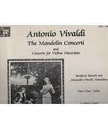 Antonio Vivaldi - Mandolin Concerti - MHS 1100 - Musical Heritage Societ... - $4.89