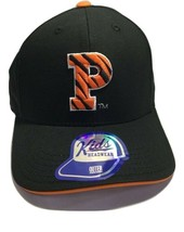 NCAA Princeton Tigers Cap Adjustable Baseball Cap Hat, Black, Kids Boys 4-7 - $14.54