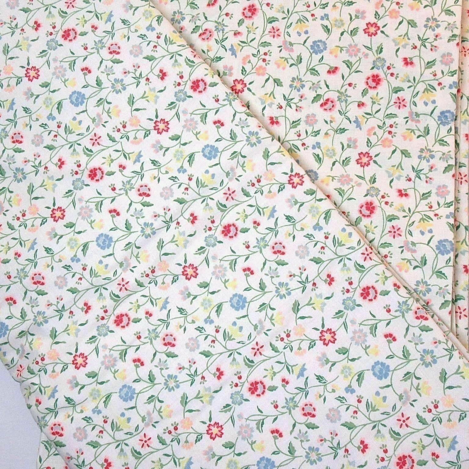 Primary image for Waverly Matilda Floral Multi 2-PC 100 x 92 Lined Drapery Panel Set(s)