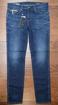Made in Italy Armani Exchange $260 A|X Men Tapered Fit 100% Cotton Blue ... - $79.19