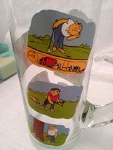 Golfer Martini Pitcher Glass Beaker Style Barware - Ashby Golf Cartoon image 6