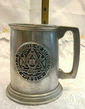 Vintage Drexel Institute of Technology Science Industry Art Pewter Mug 1891 image 2