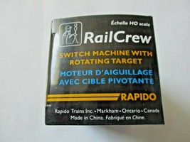 Rapido #320101 RailCrew Switch Machine with Rotating  Target HO Scale image 2