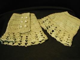 Cuffs & Neckpiece set - Pearls and Lace