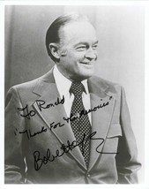 Bob Hope (d. 2003) Signed Autographed Vintage Glossy 8x10 Photo - $59.99