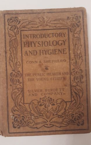 Vintage Introductory Physiology & Hygiene  Primary Book 1906