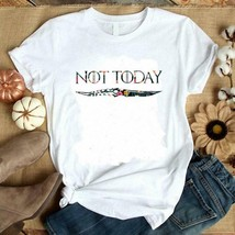 Flower-Not-Today-Arya-Stark-Game-Of-Thrones Best shirt for Father's Day ... - $16.99