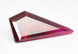 Natural Ruby Loose Gemstone 10.15 Ct Certified Red Color Fancy Shape - $16.65