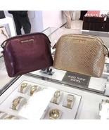NWT Michael Kors ADELE Medium Dome Pebbled Leather Crossbody Bag - $59.99