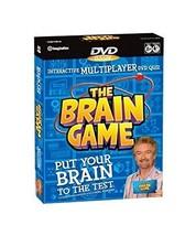 The Brain Game - Interactive Multiplayer DVD Quiz - $18.03