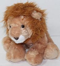 Aurora SHAGGY LIGHT BROWN LION BIG CAT Stuffed Plush Animal SOFT TOY Cute - $12.86