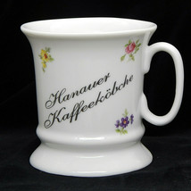 Reutter Porzellan Germany Coffee Mug Tea Cup Hanauer Kaffeekobche Flower... - $17.99