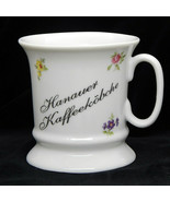 Reutter Porzellan Germany Coffee Mug Tea Cup Hanauer Kaffeekobche Flower... - $17.99